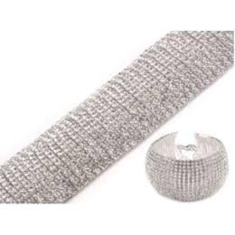 Crystal rhinestone bracelet