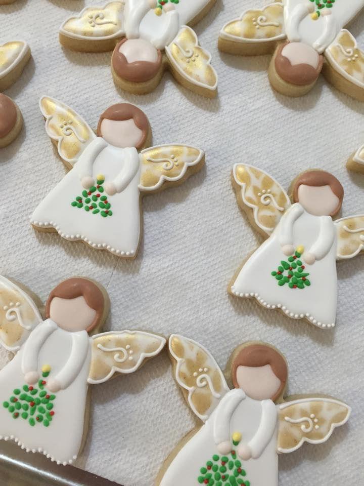 Rosemarie Carroll's angel cookies