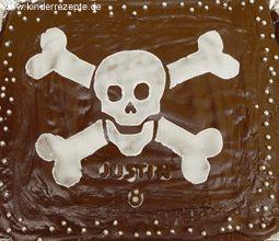 Piraten-Schoko-Kuchen