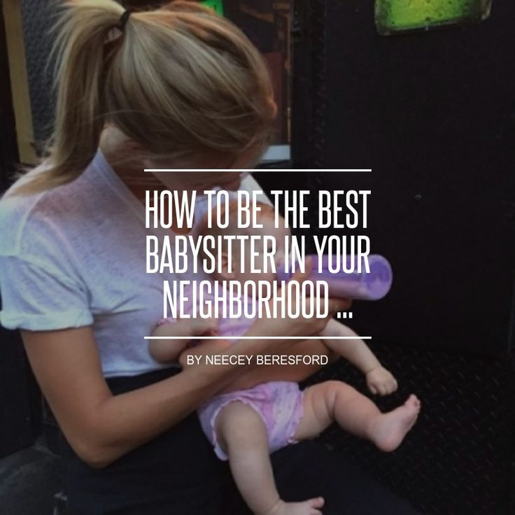 15 Best Babysitting Flyer Ideas Images On Pinterest