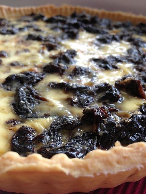 Fabuleuse tarte aux pruneaux / Fabulous prunes pie