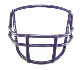 Quarterback/Wide Receiver Purple Face Mask Z157-747658030187