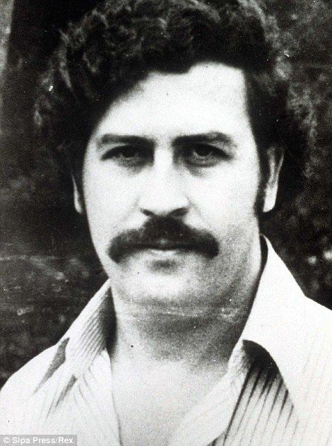Pablo Escobar in his heyday...