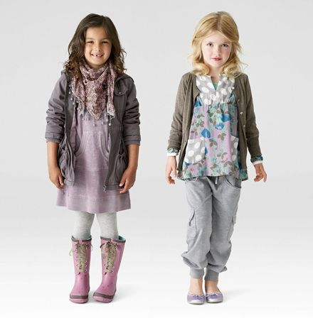 please no more tacky, sparkly, wordy clothing for little girls...classy, simple basics are best.