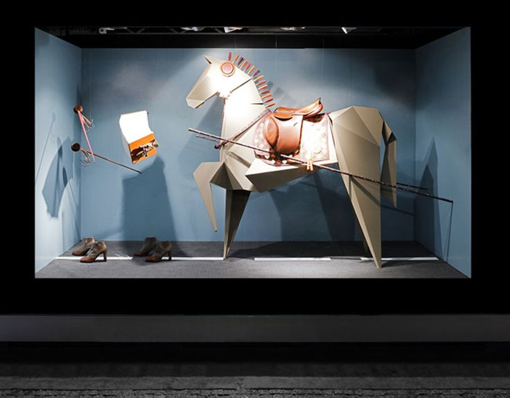 sarah illenberger: hermès shop windows