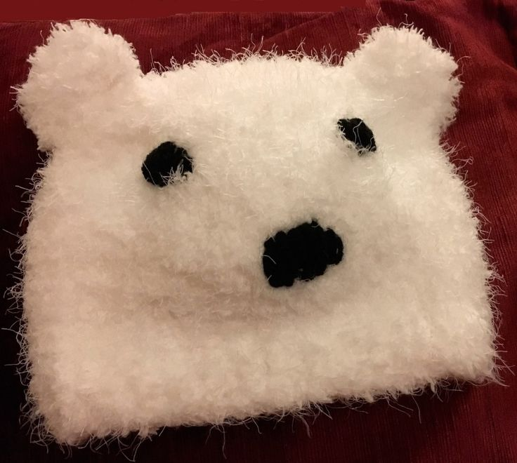 Wise Badger - Polar Bear Hat by Wise Badger Free Pattern, £0.00 (https://www.wisebadger.com/polar-bear-hat-by-wise-badger-free-pattern/)