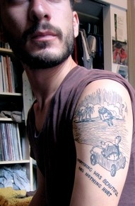Island of Conclusions Tattoo
