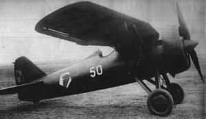 PZL P.7 Polish fighter More than 30 were still in service at the German invasion in 1939