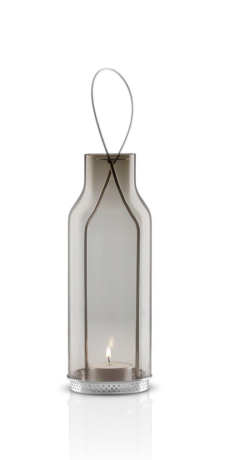 Small glass lantern by Eva Solo