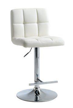 Barová stolička HAMMEL biela koženka | JYSK