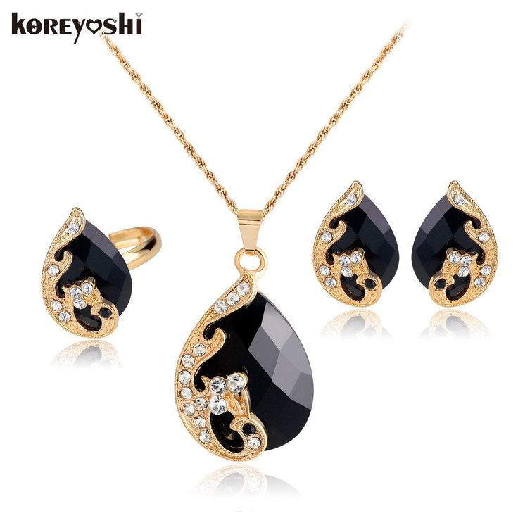Crystal Peacock fine jewelry sets