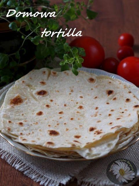 Kulinarne Szaleństwa Margarytki: Domowa tortilla (pszenna wersja podstawowa)