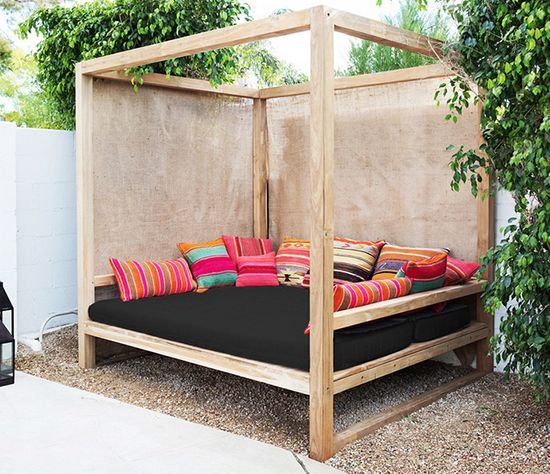 Outdoor Furniture Beds: Best 25+ Outdoor Daybed Ideas On Pinterest