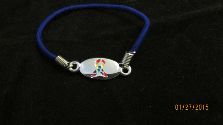 Autism bracelet by GritsSouthernStyle on Etsy