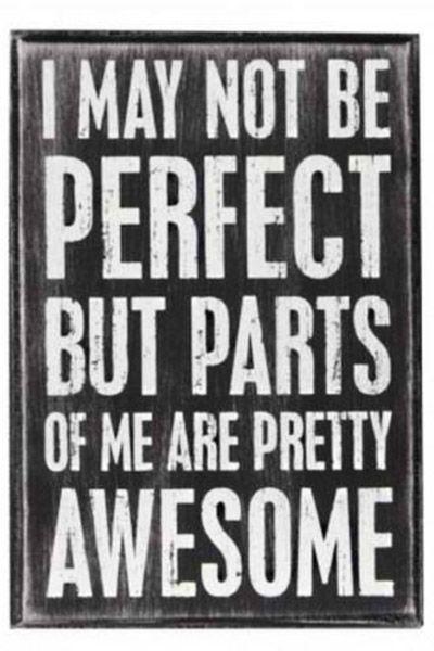 Puede que no seas perfecta (...)