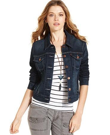 Ways to Wear: Dark Denim Jacket