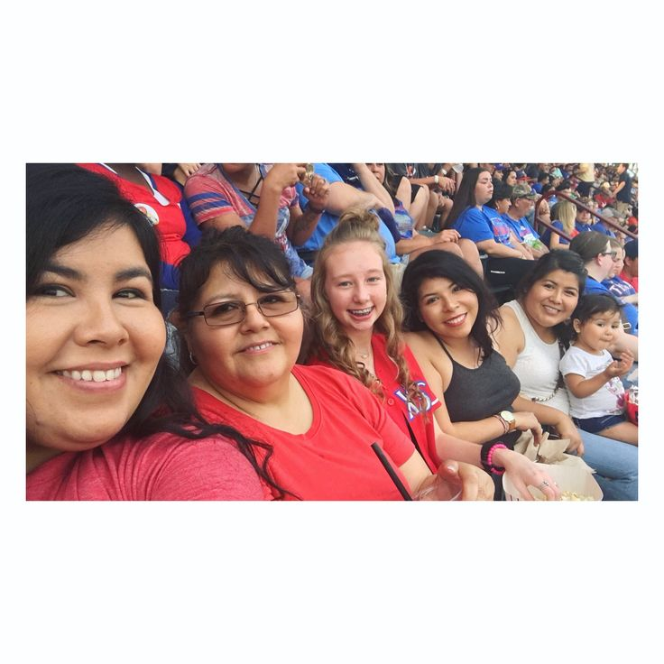 And now I really need someone to explain baseball to me...because tonight was a whole lot of fun!!! For these main reasons: • I got to go with amazing company, my mom, sisters, Sprout, & Lily! • I wore my @netministries tee. Although, I really need to shop for legit TX Ranger garb. • It was Sprout's 1st baseball game! • Food!!! •The Texas Rangers W-O-N!!! 10-0. Kinda bummed I didn't get to yell out my baseball movie quotes. *Also, Lily never got lost because I'd yell her name out…