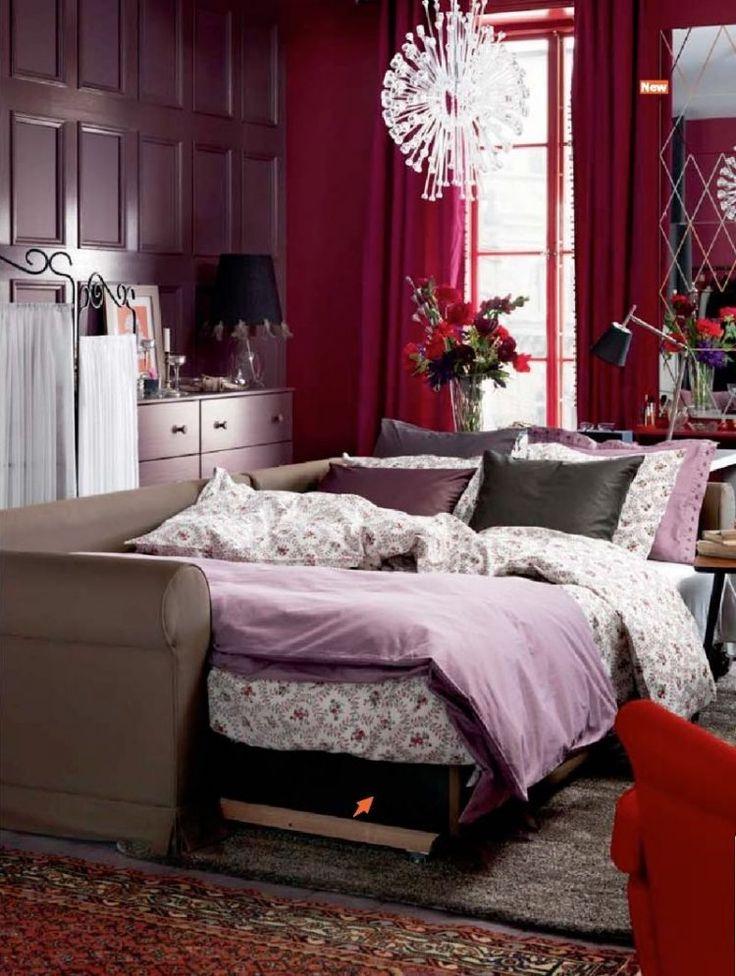 Hálószoba berendezés ötletek - IKEA katalógus 2015