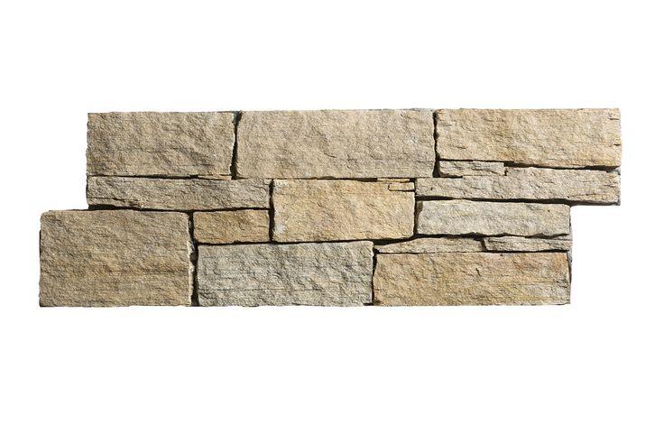 STONEPANEL® SAINT-YRIEIX, panneau de pierre naturelle avec un litage marqué alternant de très fines couches de couleur claire et de plus épaisses de couleur plus sombre | #STONEPANEL #CUPASTONE #CUPAGROUP #pierrenaturelle #décoration #aménagement #parement #mur #revêtement