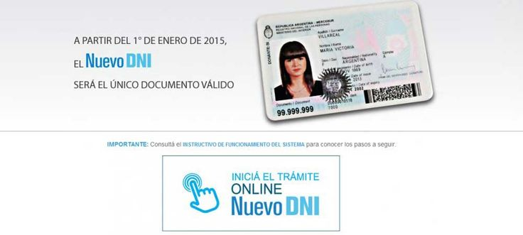 Nuevo DNI electronico online