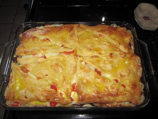 Under the Willow: Italian Layer Bake- Dinner