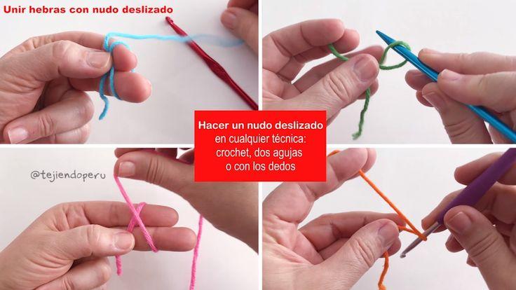 Un tip muy útil: cómo unir hebras con un nudo deslizado para tejer en cualquier técnica