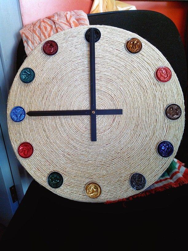Reloj de cuerda y capsulas Nespresso