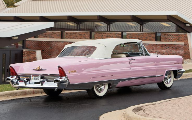 1956 Lincoln Premiere - one of the most beautiful automobiles in the world 0-60 9.1 1/4 mi. 17.2