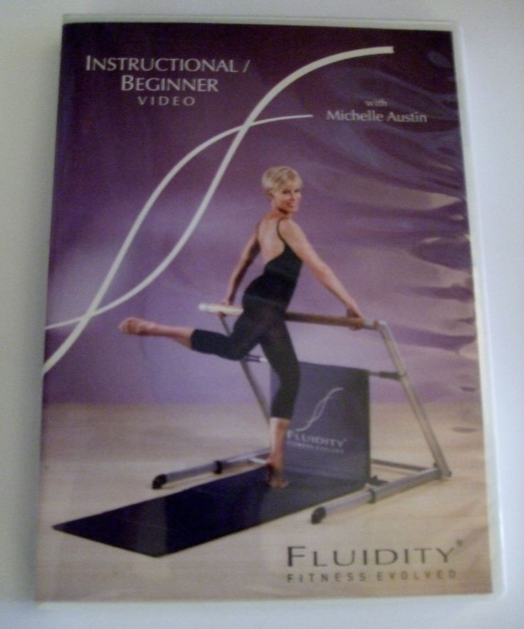 Fluidity Fitness Beginner DVD from Michelle Austin is the ultimate Bar workout for total fitness!