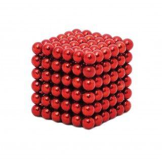 Magneetballetjes Rood (216 stuks) | Neocube | www.magneetballetjes.nl