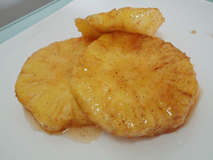 Já provaram esta delicia? Ananás Caramelizado com Canela - http://www.sobremesasdeportugal.pt/ja-provaram-esta-delicia-ananas-caramelizado-com-canela/