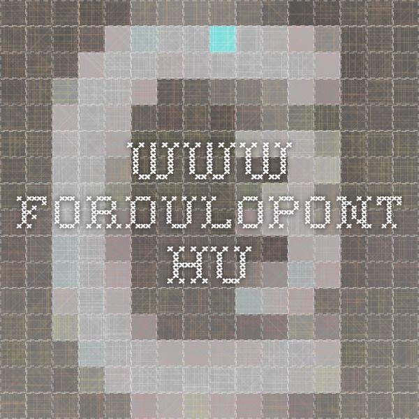 www.fordulopont.hu