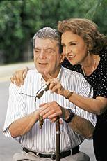 Eva Wilma e Carlos Zara - no seriado MULHER - Tv Globo