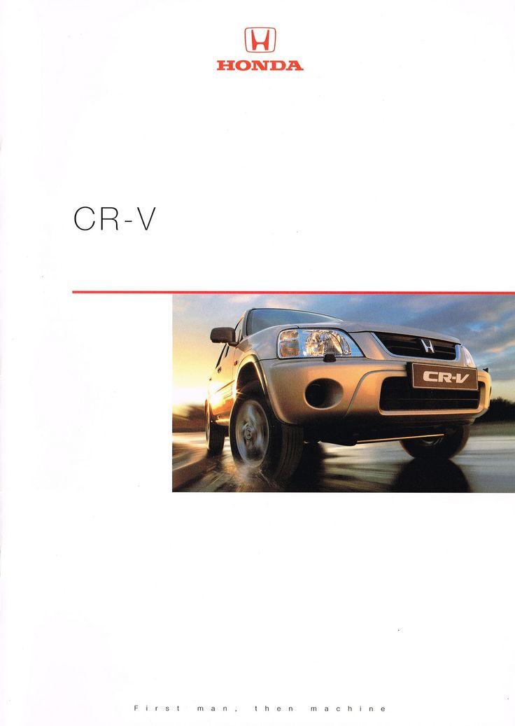 10 best ideas about honda cr v brochures 1995 2001 on for Honda cr v brochure