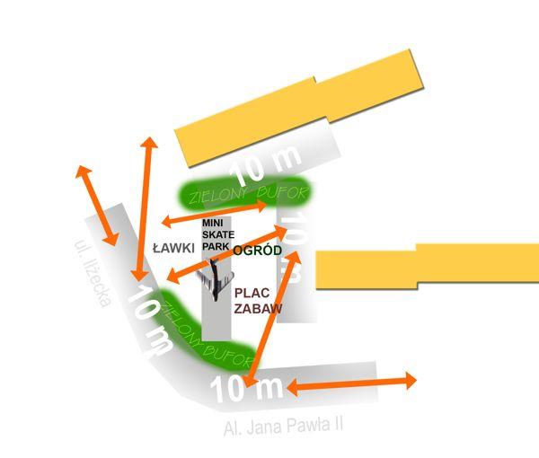 Zagospodarowanie otoczenia samolotu na os. Pułanki w Ostrowcu Św. ///  Under the plane park. Arrangement of the area around the plane postument in os. Pułanki in Ostrowiec Św. / Poland