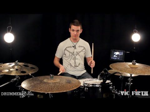 Drummer101 with Kevin Prince: Paradiddle Diddle Septuplet Fill - YouTube