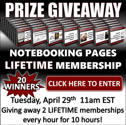Notebooking Pages is giving away 20 LIFETIME memberships today!