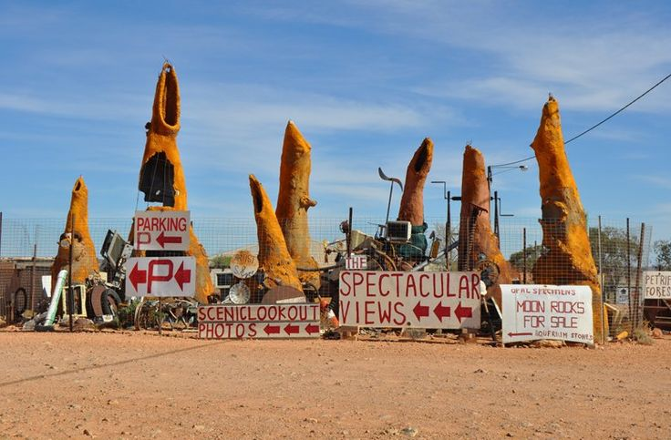 One of the biggest attractions in Coober Pedy is just seeing the town itself! The town is full of bizarre and quirky sights – like this unu...