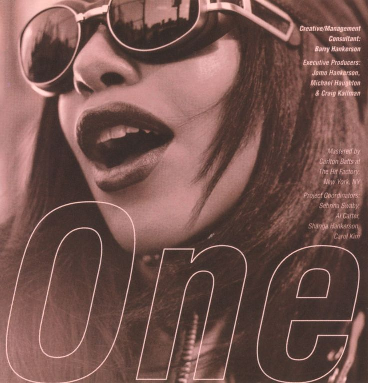 "The original AALIYAH ""One In A Million"" album      Aaliyah 2004 edition of One In A Million    Aaliyah One In A Million alb..."