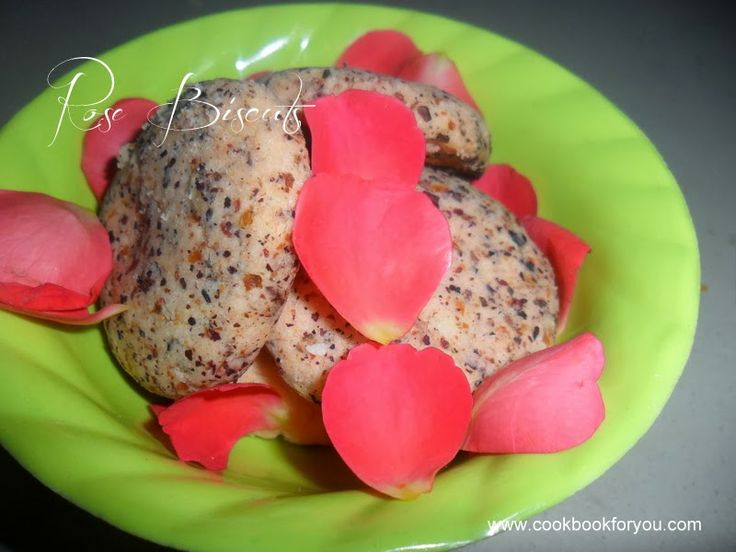 How to prepare Rose Biscuits | Valentines Day Special