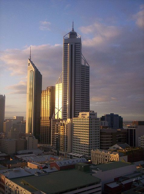 Perth...going there on July hopefully