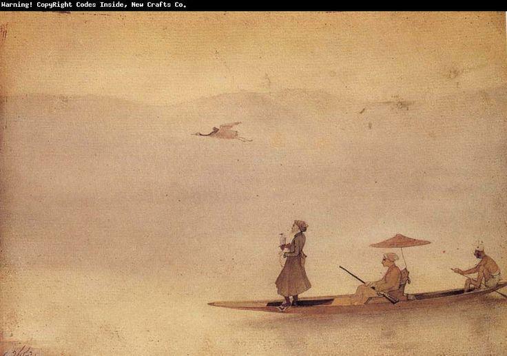 Abanindranath Tagore, Hunting on the Wular