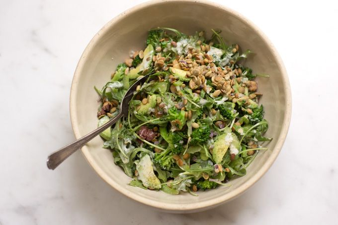 From 101 Cookbooks - Ideal Lunch Salad full of veggie goodness