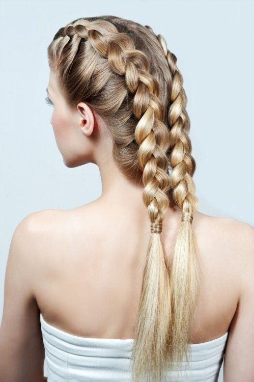 French Hairstyles For Long Hair: 17 Best Ideas About Front French Braids On Pinterest