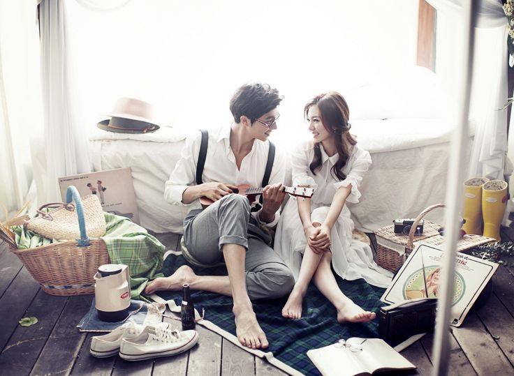Korea Pre-Wedding Studio Photography by May Studio on OneThreeOneFour 0