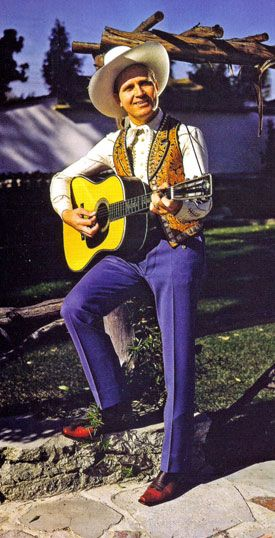 Gene Autry with his Martin guitar