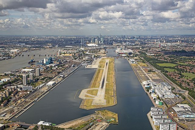 London City Airport. A brilliant airport, one of my favourites.