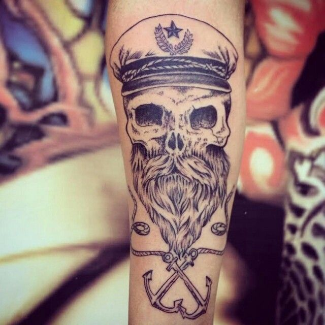 O pirata feito por @washingtontattoo  Washington Brasil wtatuagens@ hotmail.com…