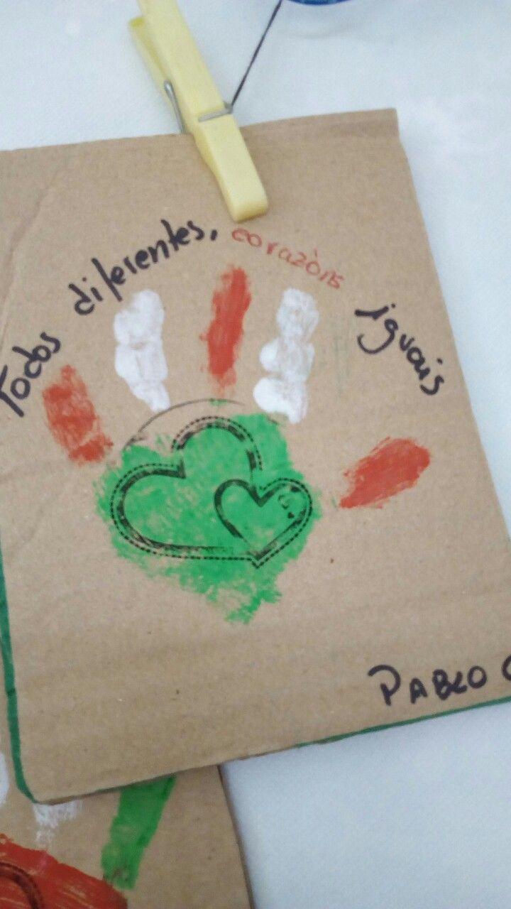Postal do día da Paz.