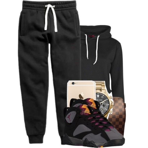 A fashion look from September 2015 featuring Boohoo hoodies, Louis Vuitton messenger bags and Michael Kors watches. Browse and shop related looks.